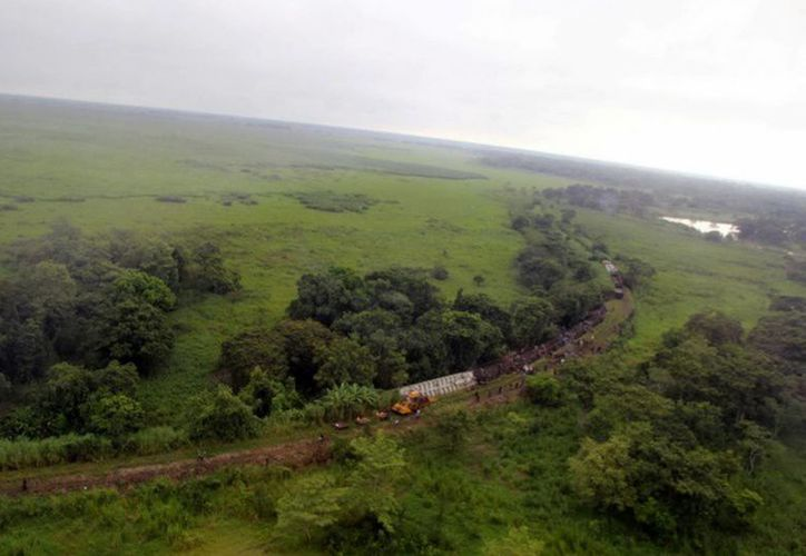 La empresa ferroviaria responsable de La Bestia ya ha reiniciado sus actividades. (Notimex)