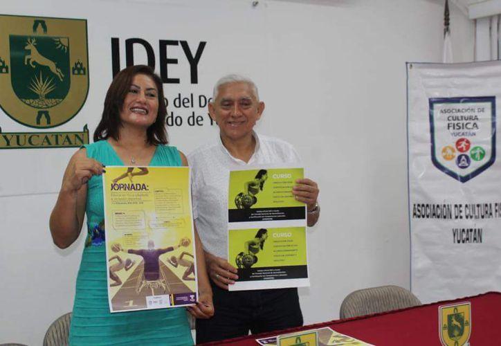 Rosa Pech Pacheco, presidenta de la Asociación de Cultura Física. (Foto: Milenio Novedades)