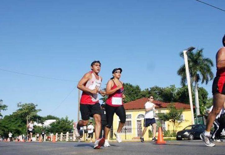 Club Runners organiza competencia, como antesala del aniversario. (Foto contexto, archivo SIPSE)