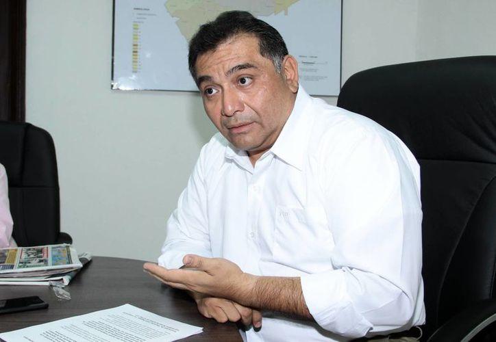 Víctor Caballero advirtió que no tolerará más infundios en su contra, en particular de aquellos que utilizan el movimiento para fines particulares. (Archivo/SIPSE)