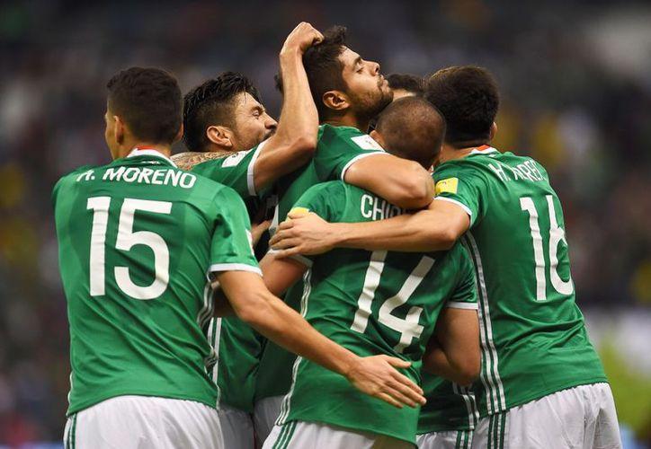 La Selección Mexicana ya tiene uniforme para el Mundial de Rusia 2018. (Contexto/Internet).