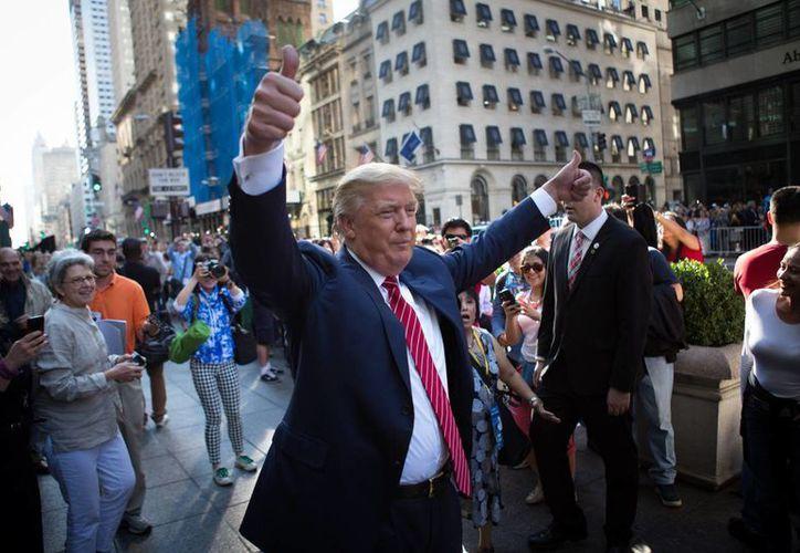 En Florida, Donald Trump encabeza las preferencias entre republicanos con un 24.4 por ciento. (AP)