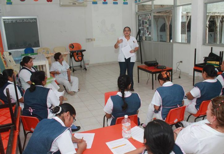 Con el taller se aprenderá a desarrollar procedimientos de cambio en las conductas de los infantes. (Cortesía/SIPSE)