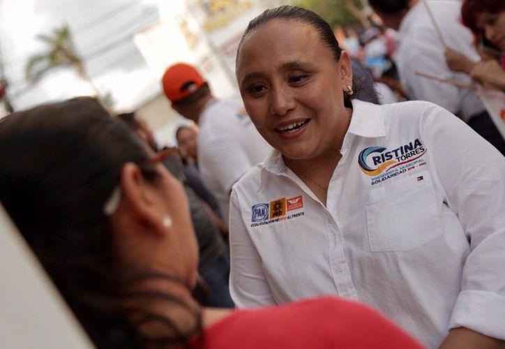 La candidata a la presidencia municipal de Solidaridad, aseguró que seguirá promoviendo acciones a favor de las mujeres. (Redacción)