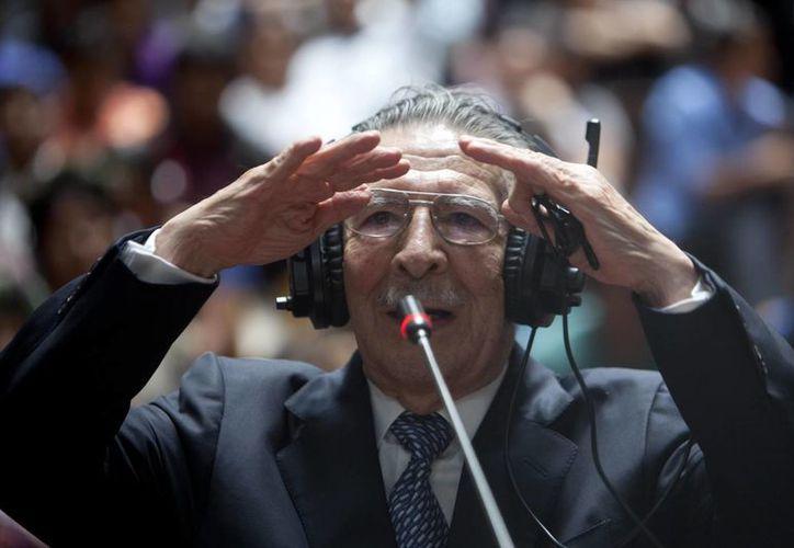 La demencia que presenta el expresidente de Guatemala, José Efraín Río Montt,  se debe a un problema del corazón, dijeron los médicos. (Archivo/EFE)