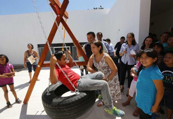 El Ayuntamiento de Mérida ha invertido en la comisaría de Cholul más de $20 millones en distintos rubros. (SIPSE)