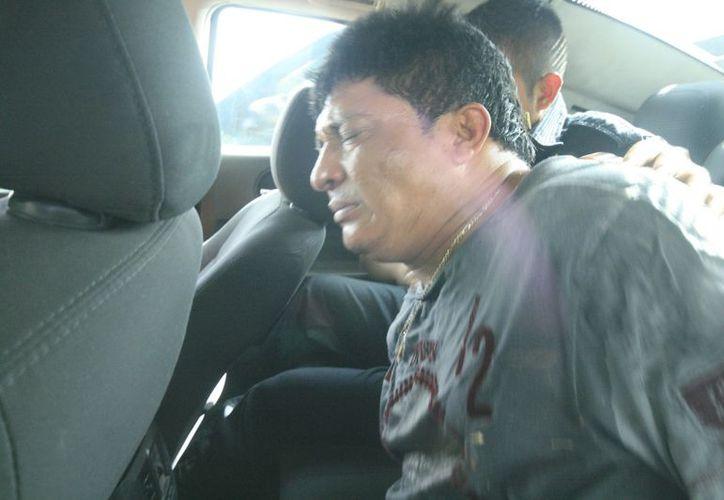 José Valentín Interián Beh una que por fin fue detenido. (Jorge Sosa/SIPSE)