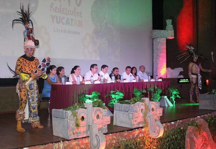 La Expo Redescubre Yucatán, presentada este miércoles por Cultur,  pretende dinamizar la economía local a través de la contratación de los productos y servicios de las cooperativas y grupos organizados de la entidad. (Foto cortesía de Gobierno estatal)