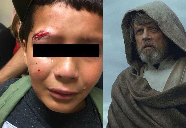 Un niño de 10 años dijo que decidió no responder a los ataques de su agresor 'porque eso no lo haría un Jedi'. (Milenio)