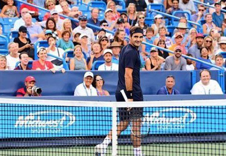 Roger Federer comenzó este martes su preparación para el US Open. (Instagram)