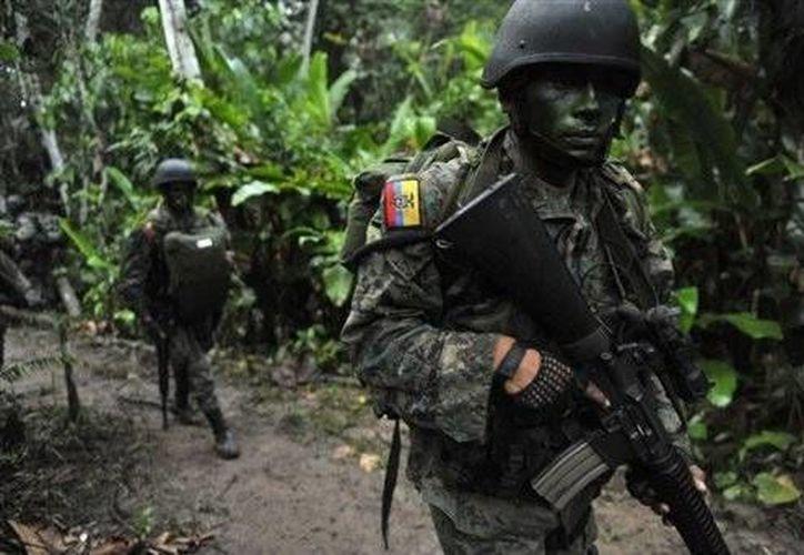 El material decomisado por militares puede destruir objetos blindados y fortificaciones. (elmercurio.com/Archivo)