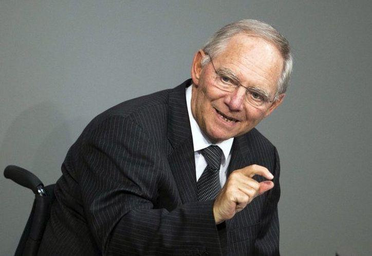 Después de tres años, creo que ya hemos dejado atrás lo peor: Wolfgang Schaeuble. (Agencias)
