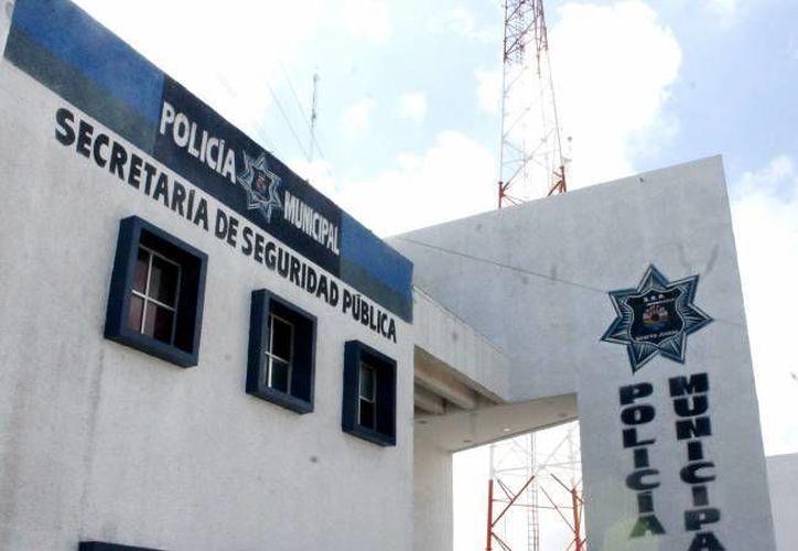 Elementos de Seguridad Pública detuvo a los jóvenes y los consignó a las autoridades ministeriales. (Archivo/SIPSE)