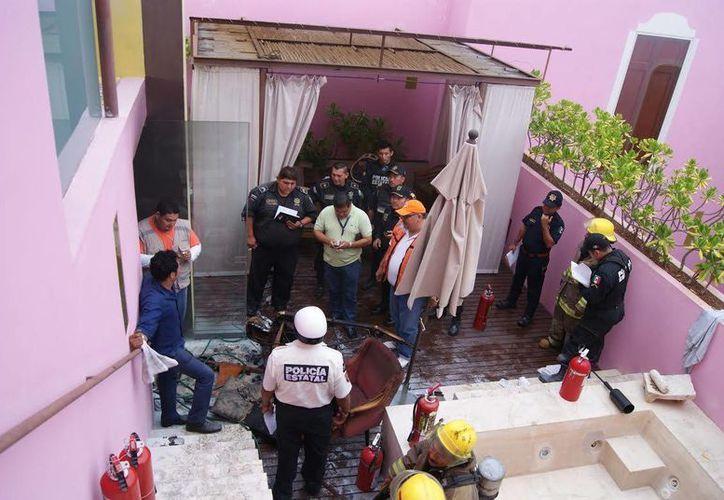 Ninguna de las tres personas lesionadas por el incendio está grave. (SIPSE)