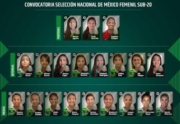 El 'Tri' femenil sostendrá partidos amistosos de preparación frente a los equipos Tigres, Pachuca y América. (Foto: Mediotiempo)