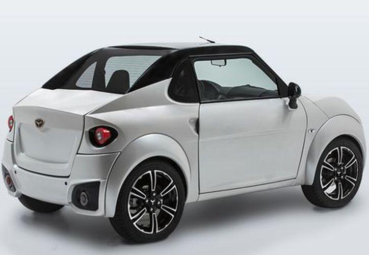 La empresa Motores Limpios presentó el primer vehículo eléctrico de marca mexicana. (Milenio).