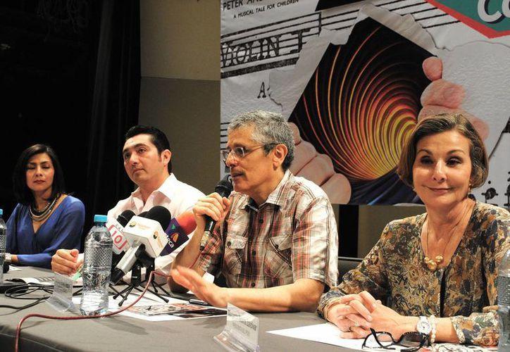 Los organizadores detallaron los puntos finos del concierto de la Orquesta Sinfónica de Yucatán. (Milenio Novedades)