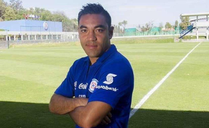 El último torneo con Cruz Azul fue determinante para Marco Fabián. (deportes.terra.com.pe)
