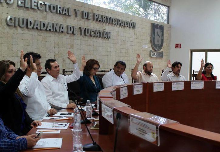 Propuestas aprobadas en la sesión del Consejo General del Iepac. (Milenio Novedades)