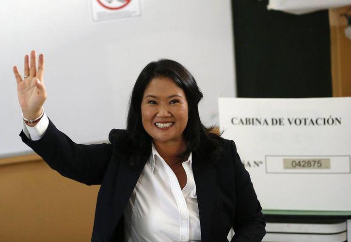 Keiko Fujimori mantuvo por varias semanas las preferencias para la seguda vuelta de las elecciones presidenciales del Perú. (AP)