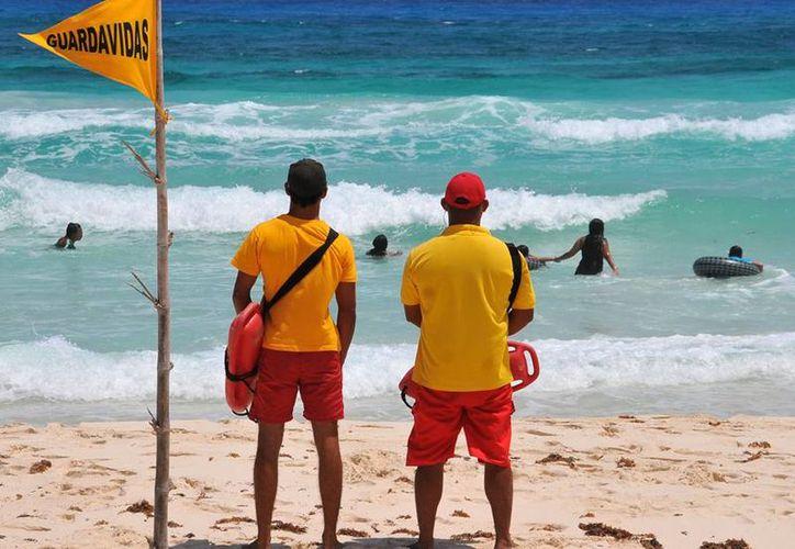 Proporcionarán auxilio en las playas más concurridas de la isla. (Cortesía/SIPSE)