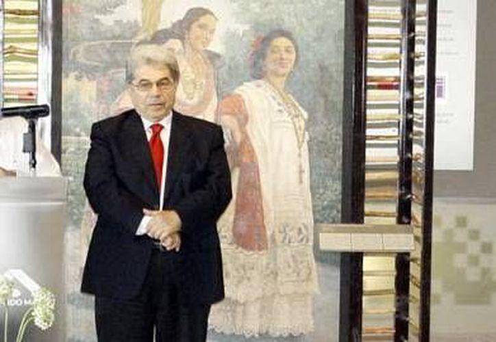Jorge Esma Bazán platicó acerca del papel de los museos en la vida cotidiana. (Milenio Novedades)