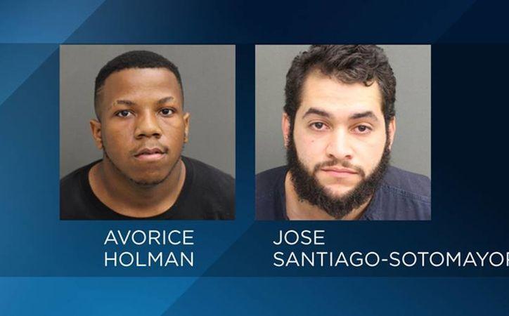 Avorice Jeno Holman y José Ignacio Santiago Sotomayor fueron detenidos por prostituir adolescentes. (WFTV.com)