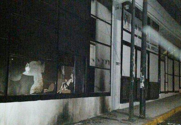 No hubo reporte de personas lesionadas en el incendio. (David Monroy/Milenio)
