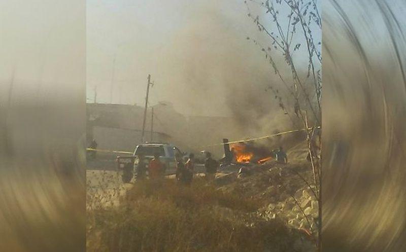 Actualizada: En helicóptero Pegaso daban apoyo en una persecución