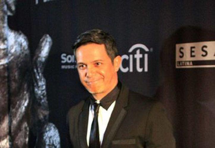 El cantante Alejandro Sanz reveló el nombre de su nuevo disco: Sirope, el cual saldrá a la venta el próximo 4 de mayo. (Archivo/NTX)
