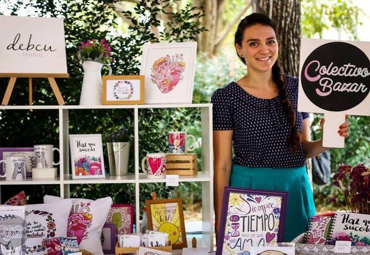 Gabriela Novelo Ávila afirmó que El Colectivo Bazar es una feria alternativa de moda, diseño, cultura, música y arte en apoyo a fundaciones protectoras de animales en la ciudad de Mérida. (Milenio Novedades)