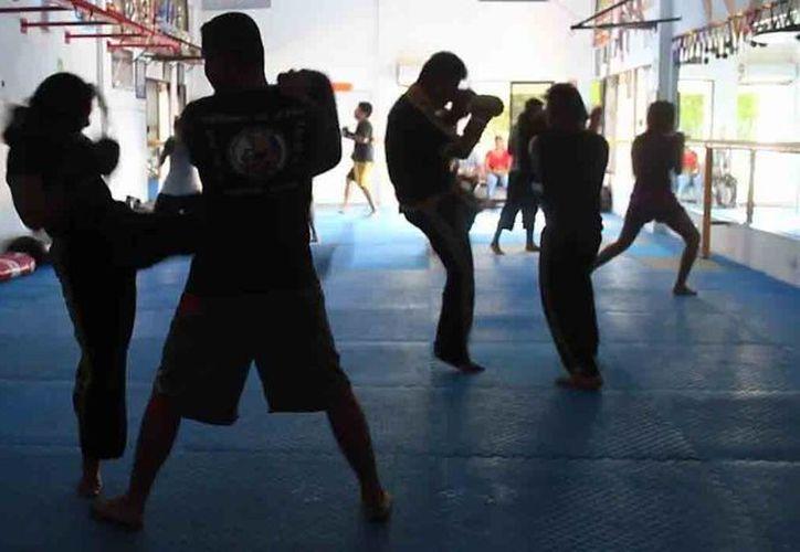 La escuela Kung Do Lama cuenta con 14 años de experiencia. (Sergio Orozco/SIPSE)
