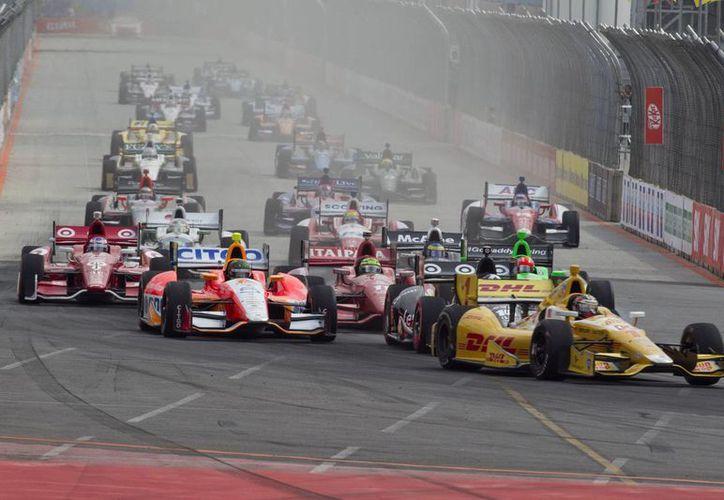 Entre 2010 y 2013, la Indy corría en Brasil en un circuito callejero. (Foto: Archivo/EFE)