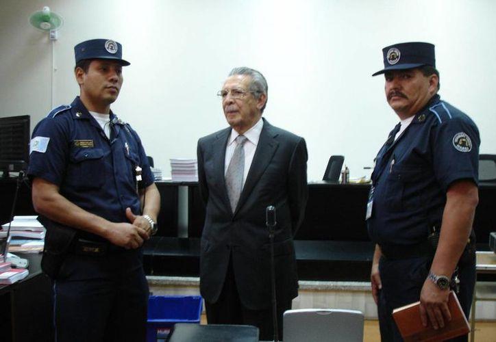 Efraín Ríos Montt, de 86 años, era considerado intocable hasta hace poco. (periodismohumano.com)