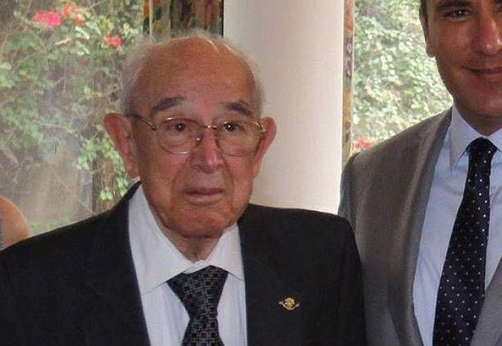 El general Rafael Moreno Valle, ex gobernador, médico y abuelo del actual mandatario de Puebla, falleció ayer. (globalmedia.mx)