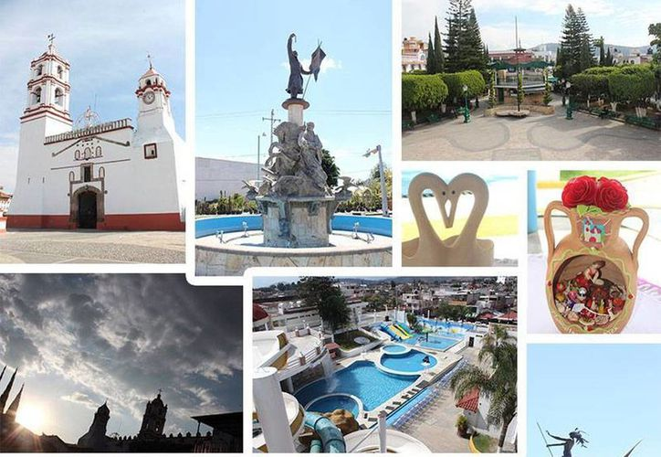 Foto promocional tomada de página de Facebook de Ixtapan de la Sal, lugar pintoresco conocido por su s atractivos turísticos, y hoy en medio de crisis de seguridad en la que está involucrado el Alcalde.