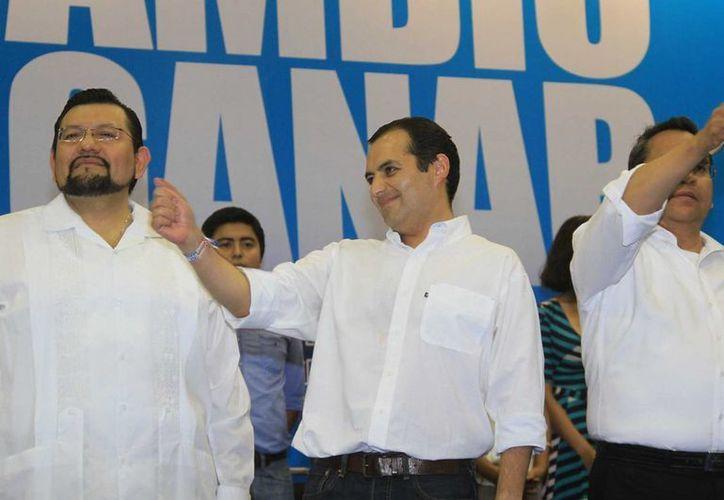Cordero reiteró que buscará que el PAN deje de ser una 'comparsa del PRI'. (Notimex)