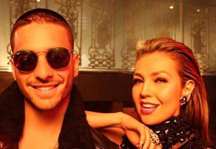 El videoclip de los cantantes fue grabado en el Chinatown de Nueva York.(Foto tomada de Milenio Digital)