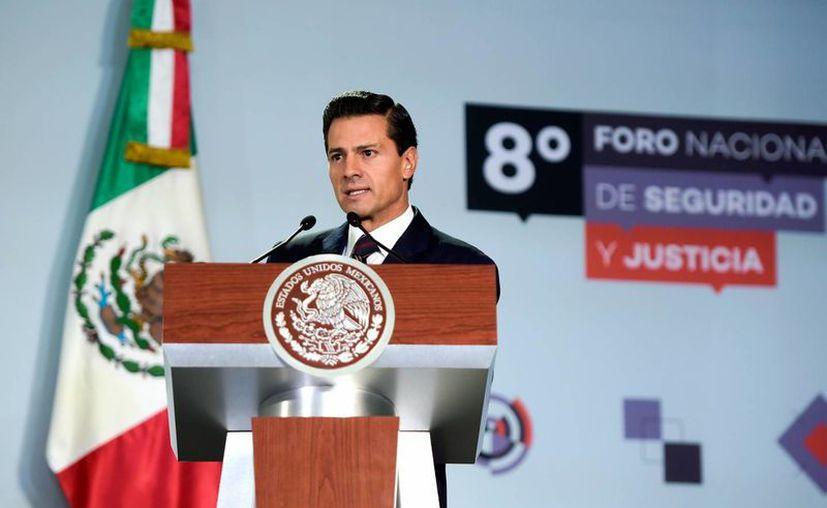 Peña Nieto devolvió al Congreso de la Unión la Ley General de Responsabilidades Administrativas. (Notimex/Archivo)