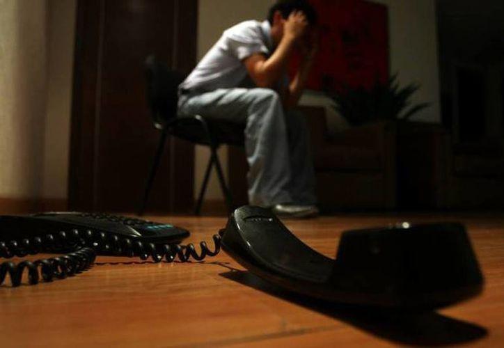 La extorsión telefónica es un delito al alza en el país. (Archivo/SIPSE)
