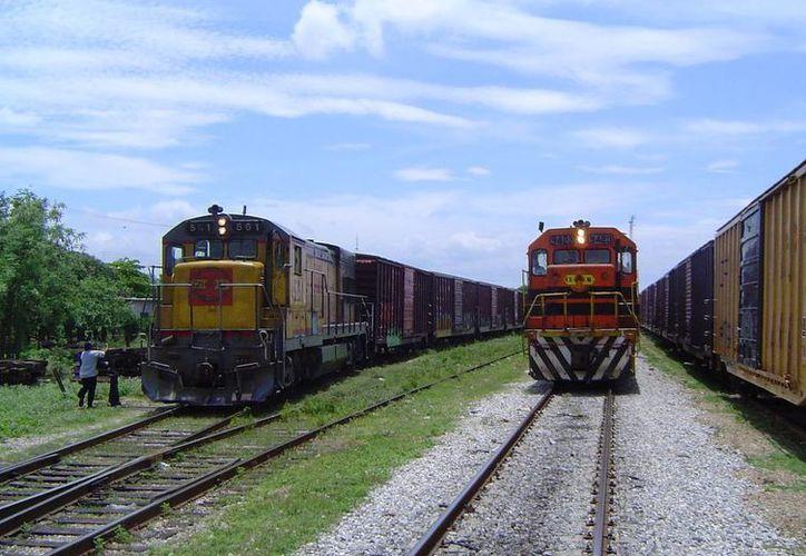 El tren volvió a ocupar las vías el pasado mes de abril, en un recorrido de reconocimiento. (t21.com.mx)