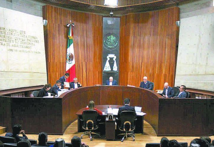 El organismo electoral difundió un comunicado. (René Soto/Milenio)