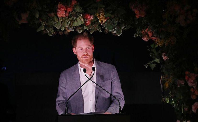 El príncipe Harry se sinceró sobre su salida de la Familia Real. (Twitter: @Sentebale)