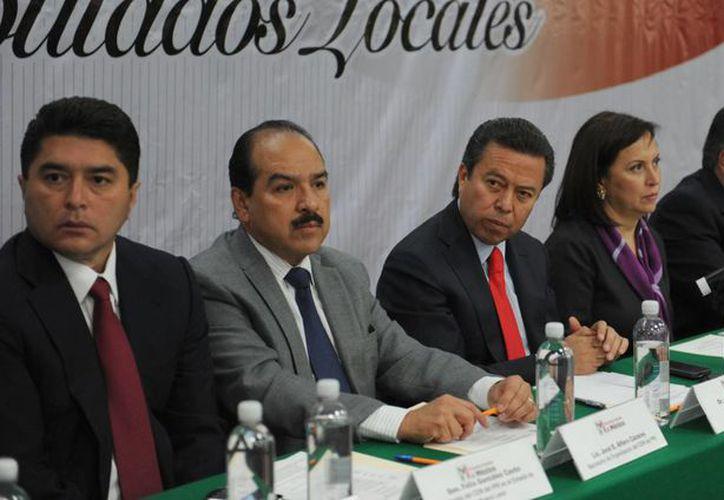 César Camacho convocó a los miembros de la CNOP a formar una cruzada en defensa de las reformas. (PRI)