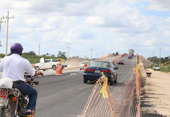 Uno de los objetivos de la construcción del Libramiento es ofrecer una vía más ágil. (Ángel Castilla/SIPSE)