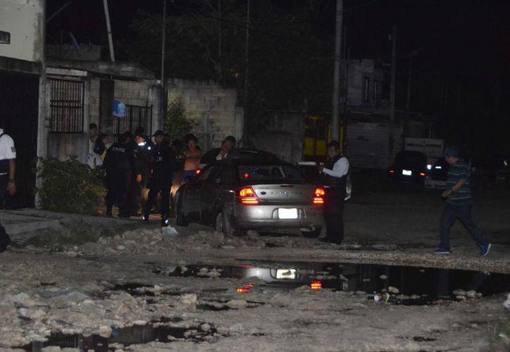 Vecinos de la zona dieron aviso a las autoridades ministeriales para que realizarán las investigaciones correspondientes. (Redacción/ SIPSE)