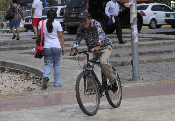 El proyecto está pensado con fines de movilidad urbana, para que las personas se puedan desplazar de manera alternativa. (Arely Vázquez/SIPSE)