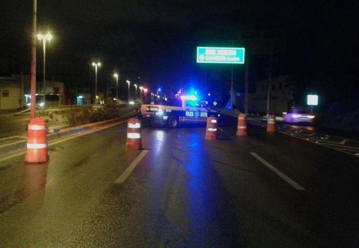 La Dirección de Tránsito cuenta con un operativo especial en ese lugar para evitar accidentes. (Redacción/SIPSE)