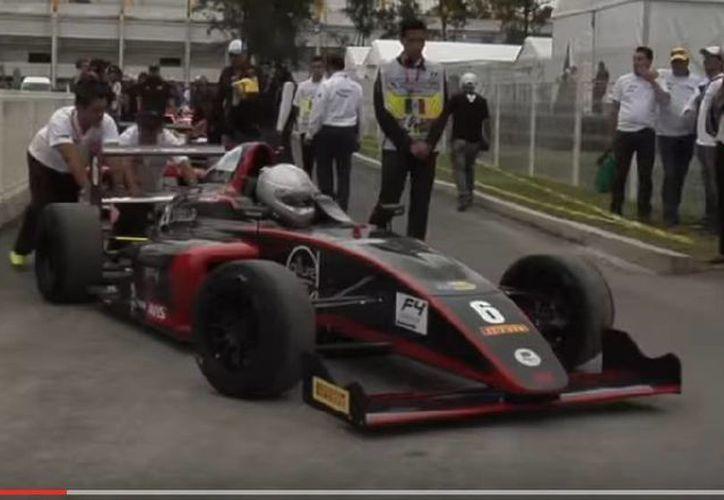 El Gran Premio de Fórmula 4 de Yucatán se hará realidad este fin de semana. (Captura de pantalla de YouTube)