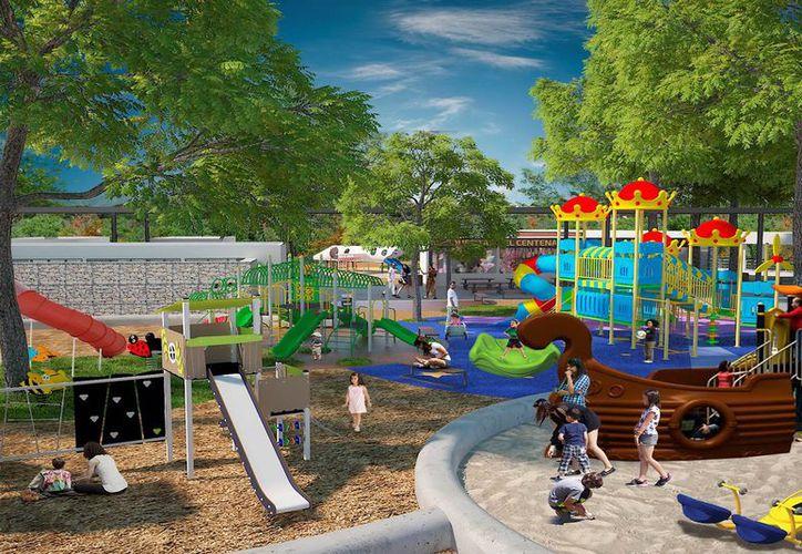 El parque zoológico del Centenario tendrá nuevos juegos infantiles, según la Comuna. (Foto: Milenio Novedades)